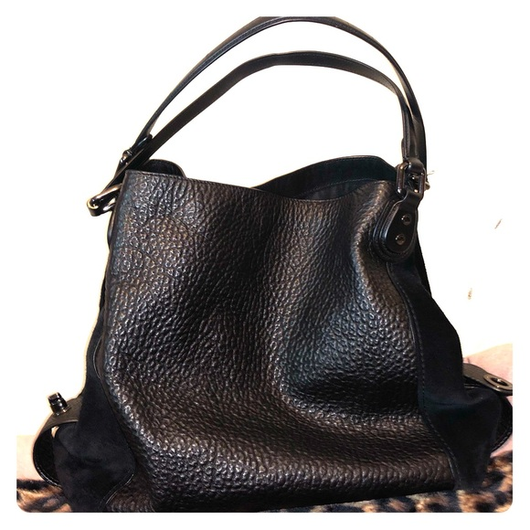 b0235b78 Coach Edie shoulder bag 42 in mixed leathers